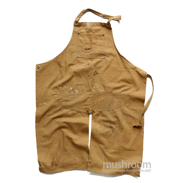 FREELAND BROWN DUCK WORK APRON