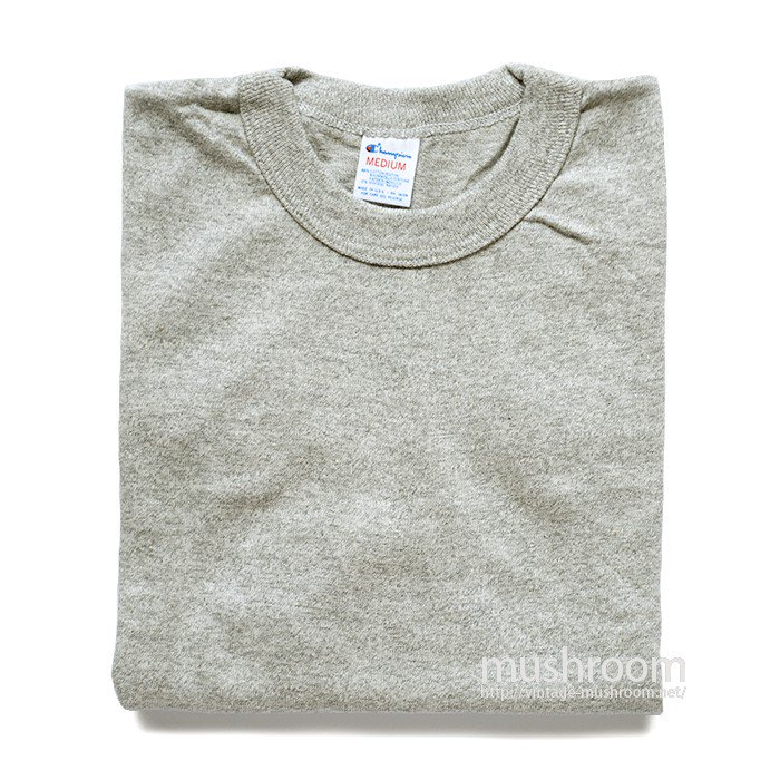 CHAMPION PLAIN T-SHIRT( M/DEADSTOCK )