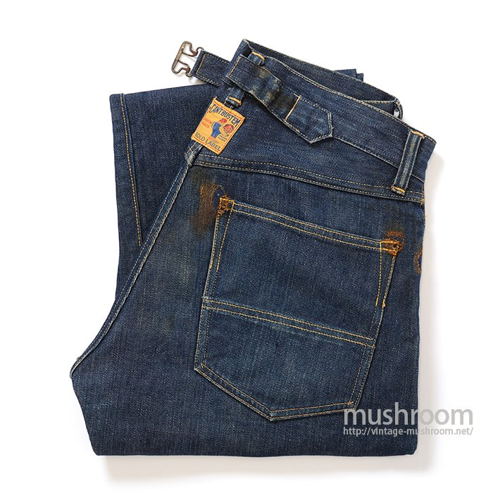 CAN'TBUST'EM DENIM WORK PANTS WITH BUCKLEBACK