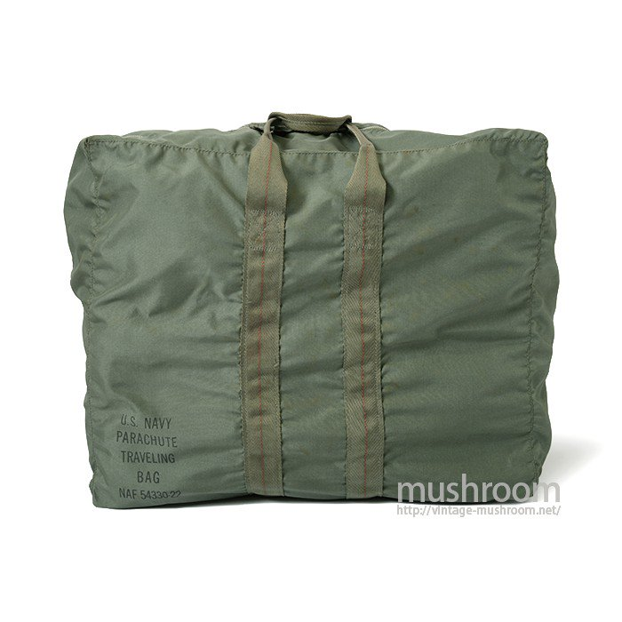 U.S.NAVY PARACHUTE TRAVELING KIT BAG( DEADSTOCK )