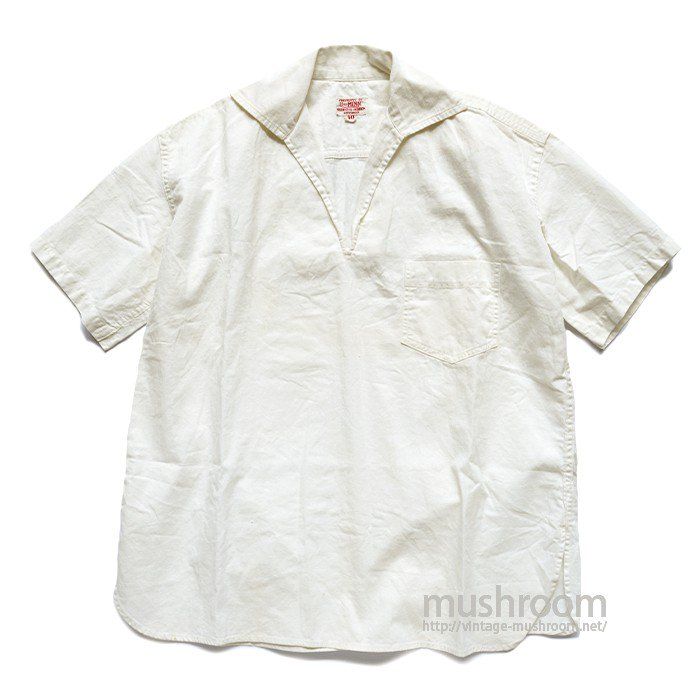 UNIVERSITY OF MINN WHITE COTTON SHIRT( 40/MINT )