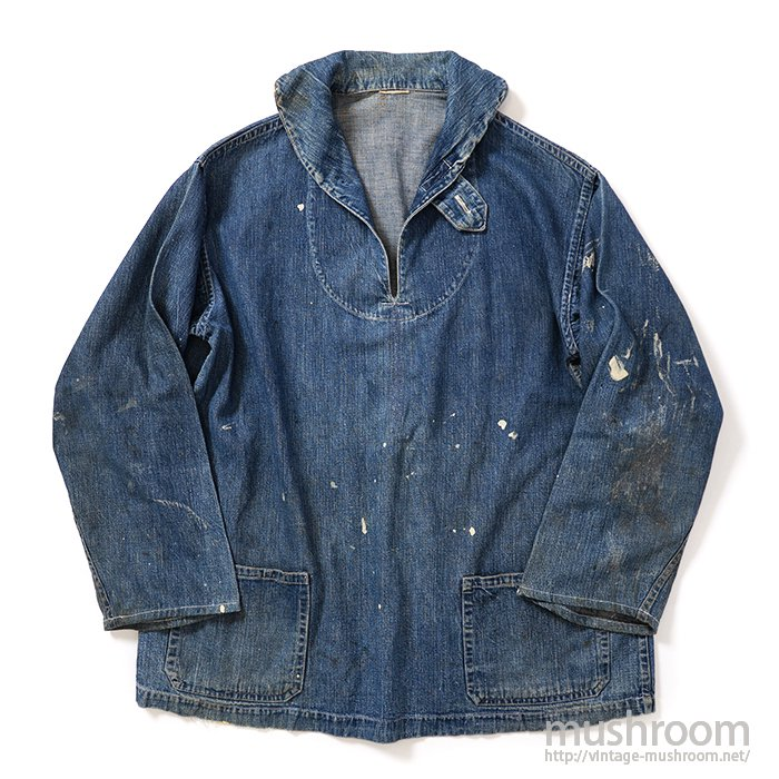 OLD SEAMAN'S PULLOVER DENIM JUMPER