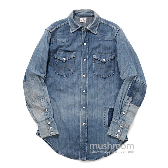 WRANGLER 27MW DENIM WESTER SHIRT