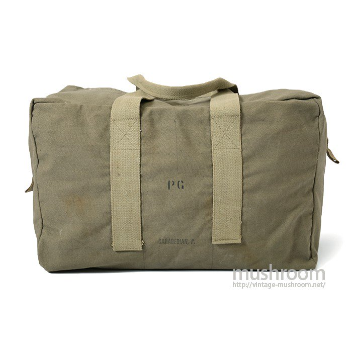 OLD AVIATOR'S KIT BAG WITH STENCIL( MINT )