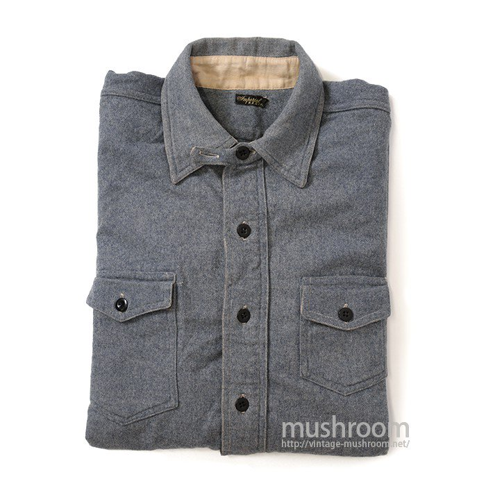 IMPERIAL PULLOVER WOOL WORK SHIRT( MINT )