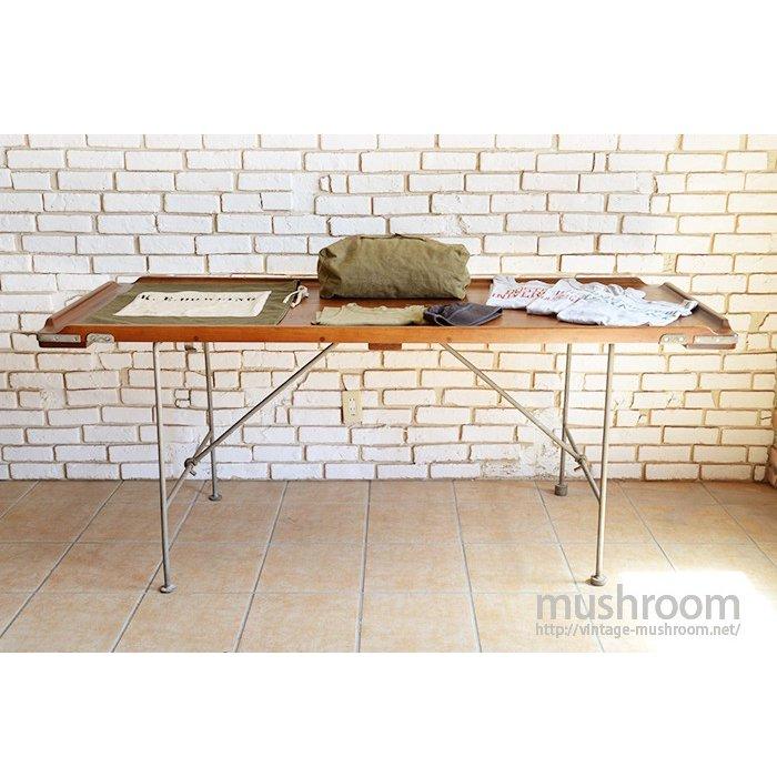 WW1-WW2 U.S.NAVY FOLDING WOOD TABLE