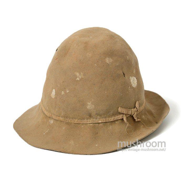 1870's MINER'S FELT HAT