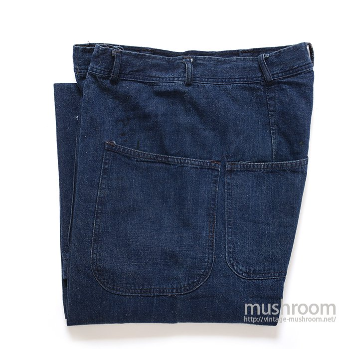 WW2 U.S.NAVY DUNGAREE DENIM TROUSER