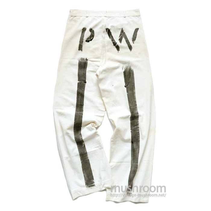 WW2 USN PW COTTON TROUSERS