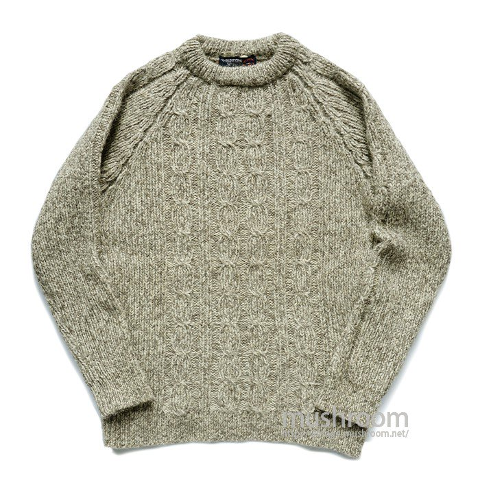 COUNTRT VOGUE FISHERMAN SWEATER