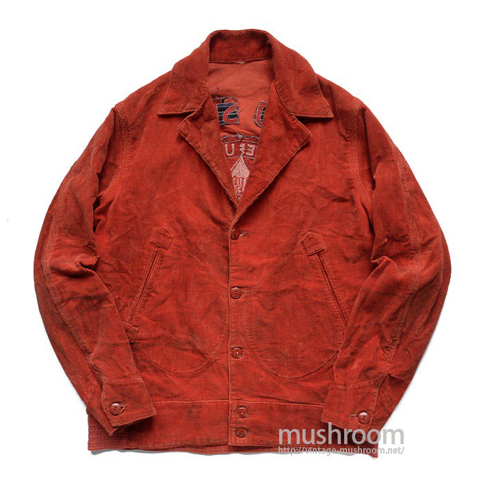 OHIO STATE UNIVERSITY CORDUROY SPORTS JACKET