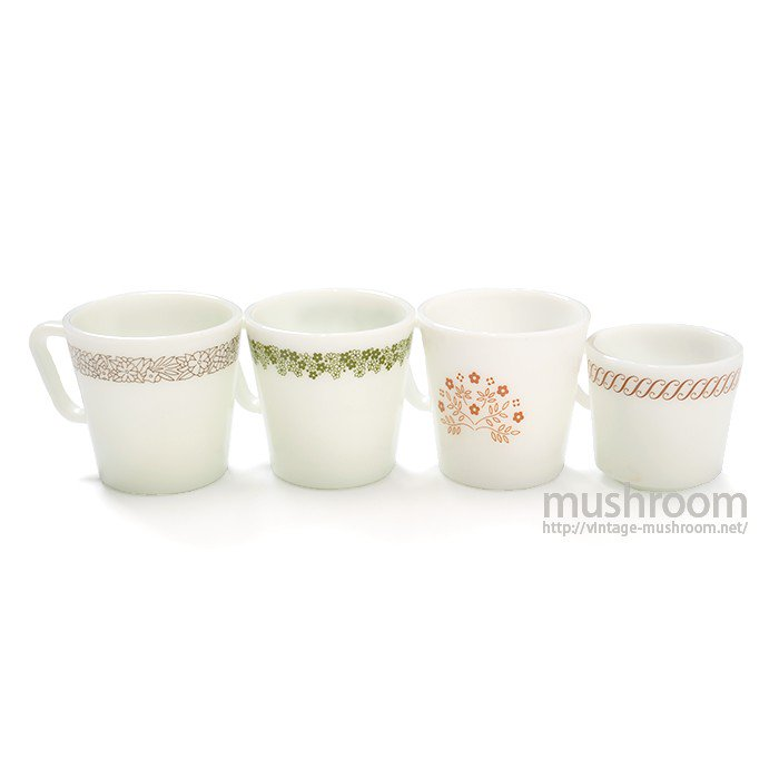 PYREX MUG CUP(4 PCS SET )