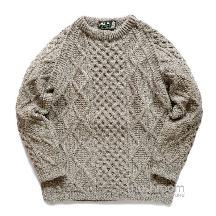 ABBEY FISHERMAN SWEATER