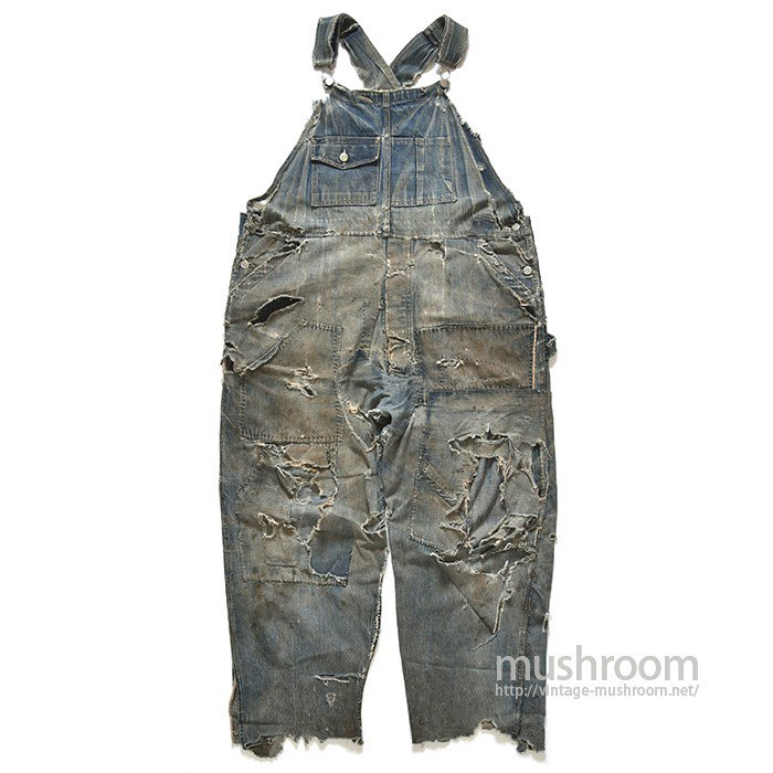 STRONGHOLD DENIM OVERALLS