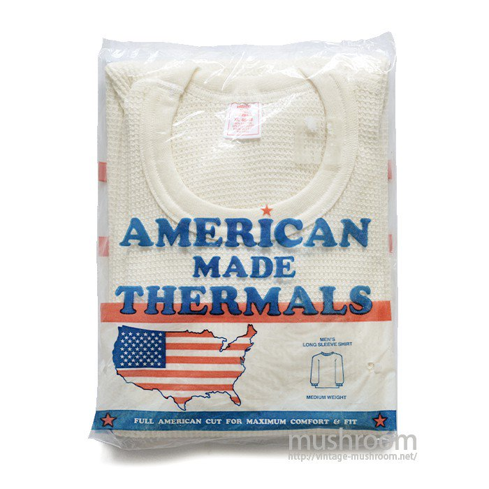 AMERICAN MADE THERMALS( XL/DEADSTOCK )