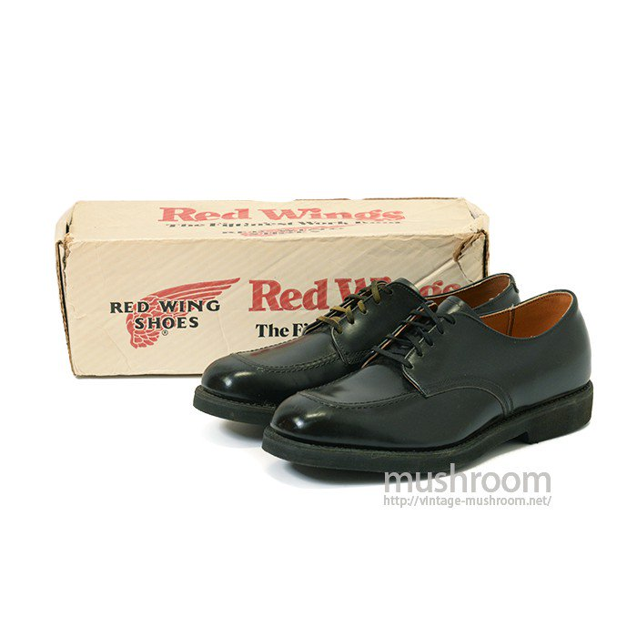 RED WING POSTMAN BLACK OXFORD SHOES( 9E/DEADSTOCK )