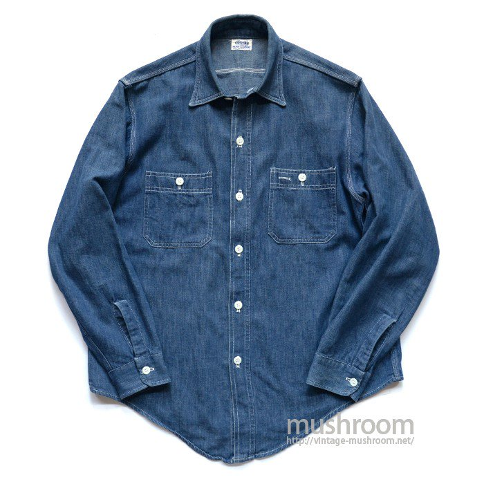 SEARS DENIM WORK SHIRT