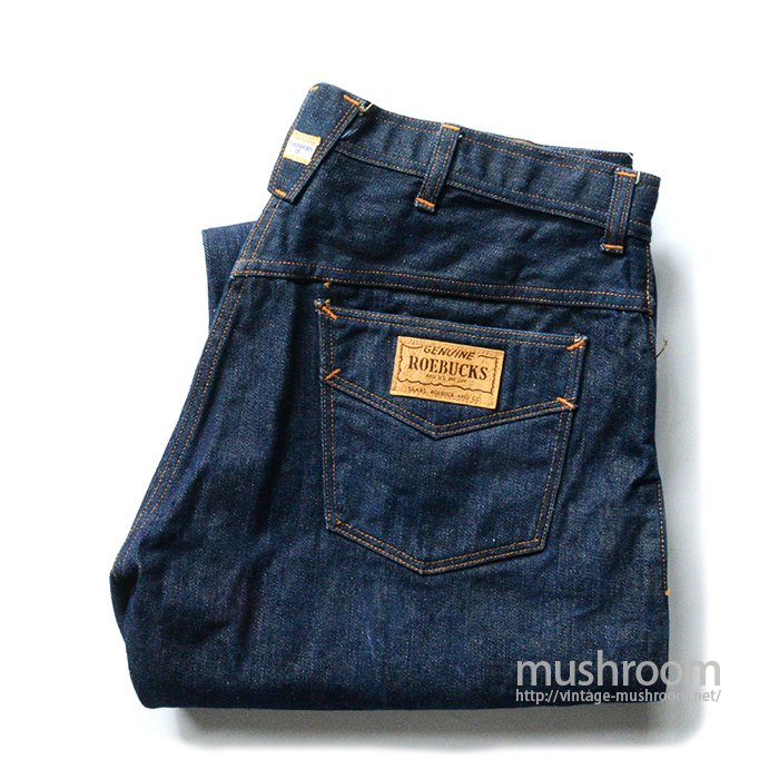 SEARS ROEBUCKS FIVE POCKET JEANS( MINT )