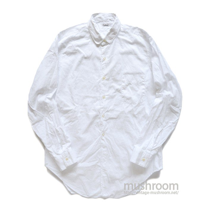 MANHATTAN WHITE COTTON L/S SHIRT( 15/MINT )