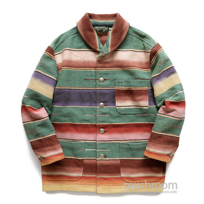 RALPH LAUREN COUNTRY NATIVE BLANKET JACKET
