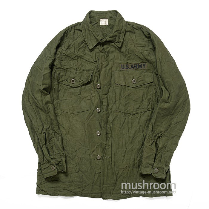 U.S.ARMY UTILITY COTTON SHIRT( 15 1/2/DEADSTOCK )