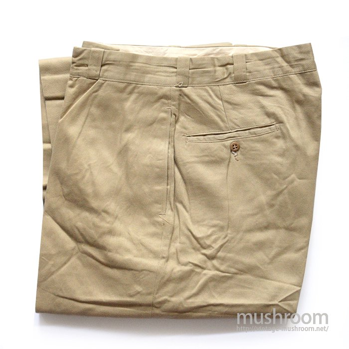 U.S.ARMY CHINO TROUSER( W34/L31/DEADSTOCK )