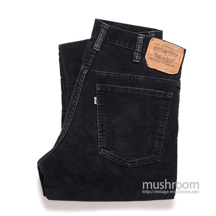 LEVI'S 517 BLACK CORDUROY PANTS( W32/L31)