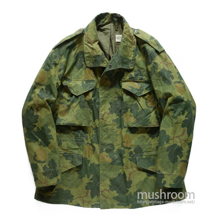 M-65 MITCHELL CAMO FIELD JACKET( L-R/MINT )