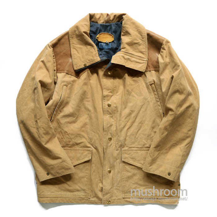 ROCKY MOUNTAIN BROWN CANVAS JACKET