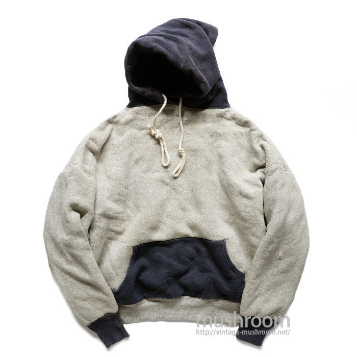 OLD TWO TONE W/F SWEAT HOODY