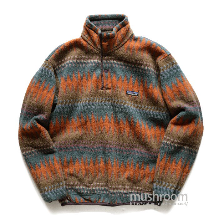 PATAGONIA SNAP-T FLEECE JACKET( NATIVE PATTERN )