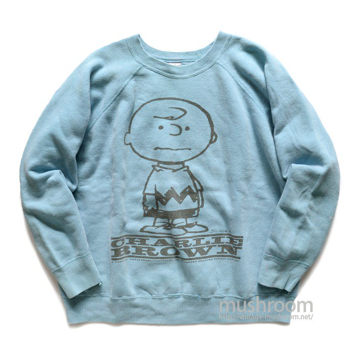 SPRUCE CHARLIE BROWN SWEAT SHIRT