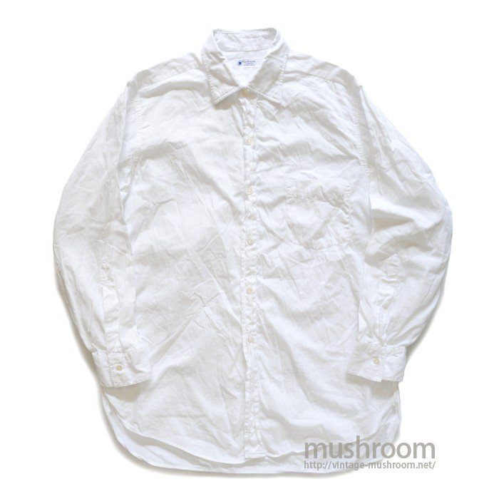VAN HEUSEN WHITE COTTON L/S SHIRT( 15 1/2/MINT )