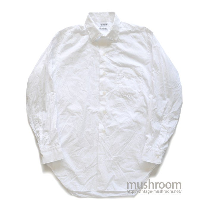 BULLOCKS WHITE COTTON L/S SHIRT( MINT )