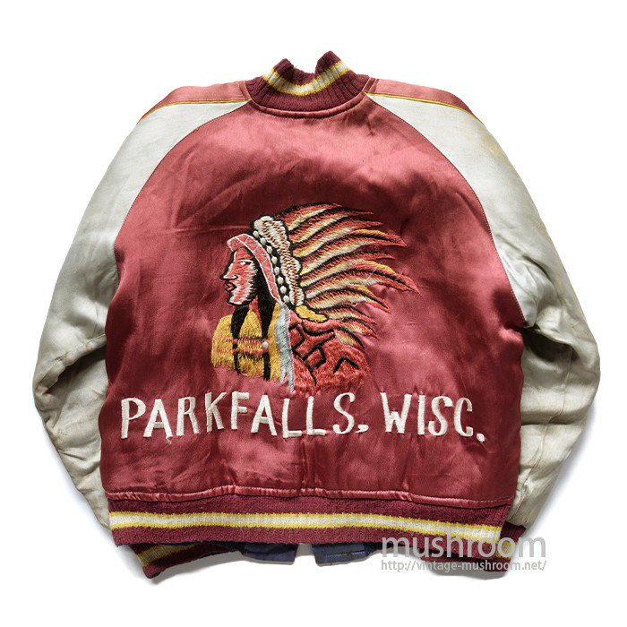 INDIAN EMBROIDERY SOUVENIR JACKET( SUPER RARE )