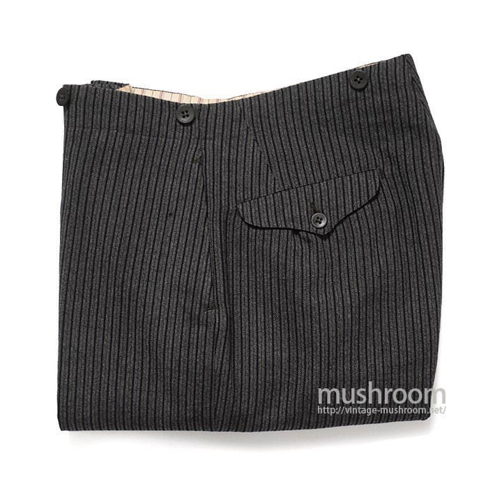 ROGERS PEET CO STRIPE WOOL TROUSER