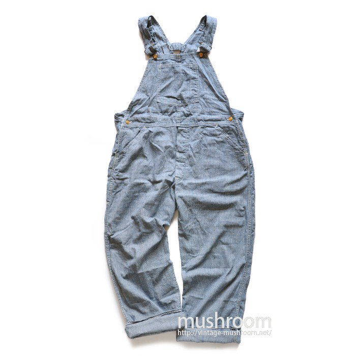 CARTER'S PIN-CHECK OVERALL( MINT/ONE-WASHED )