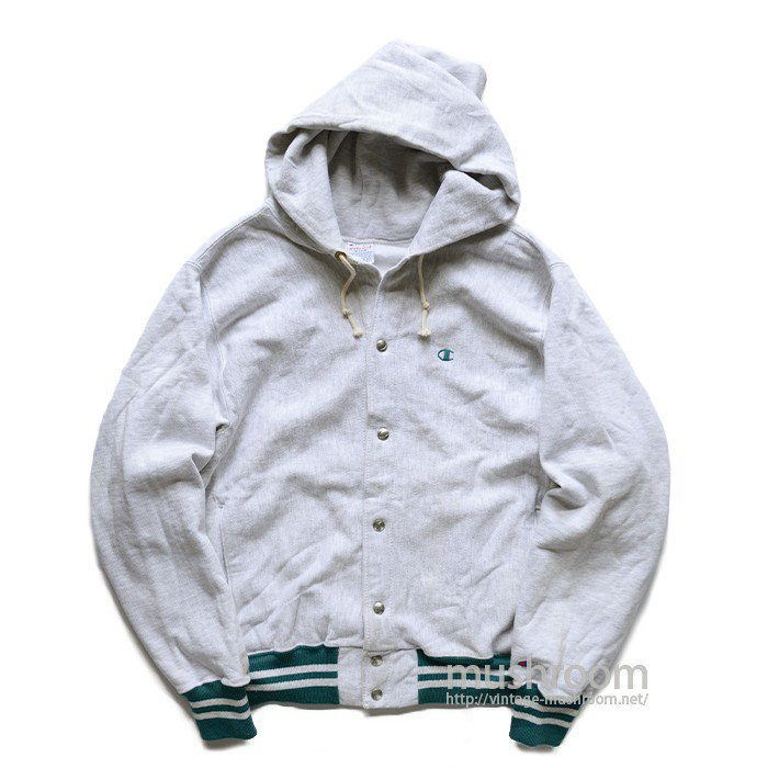 CHAMPION REVERSE WEAVE SNAP-BUTTON HOODY( M/UNUSED )