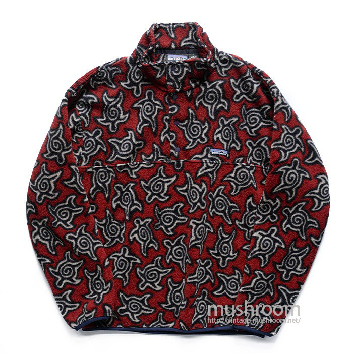 PATAGONIA SNAP-T FLEECE JACKET( SEA TURTLE PATTERN )
