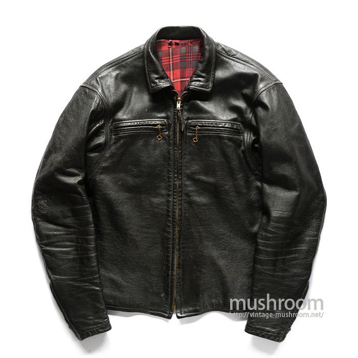 TOMAHAWK TOGS CAFE LACER LEATHER JACKET
