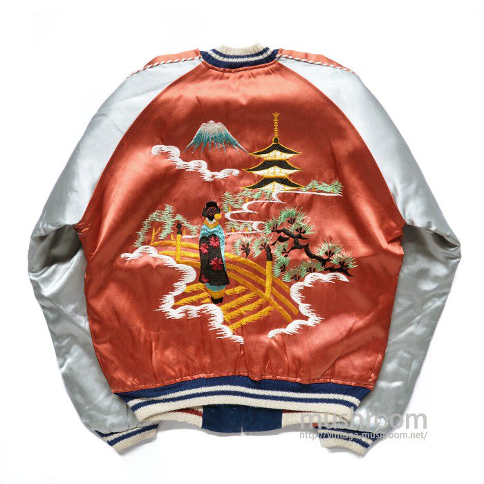 MAIKO EMBROIDERY SOUVENIR JACKET( DEADSTOCK )