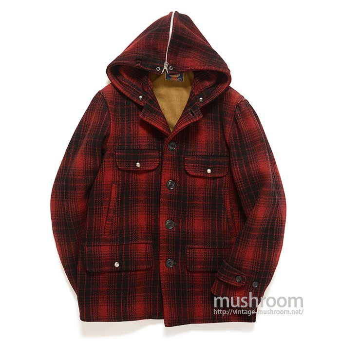 CARTER'S PLAID WOOL SPORTS JACKET WITH HOODED