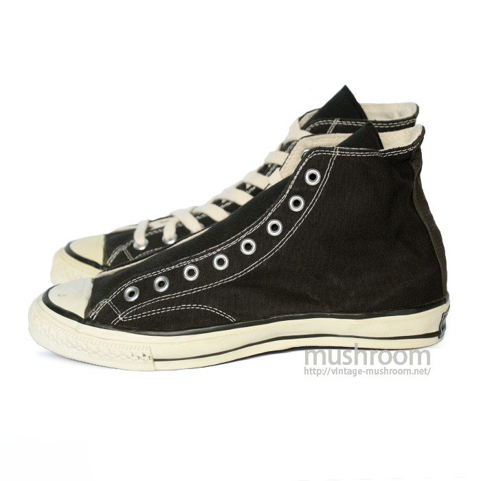 SEARS JEEPERS BLACK CANVAS SHOES( 9/DEADSTOCK )