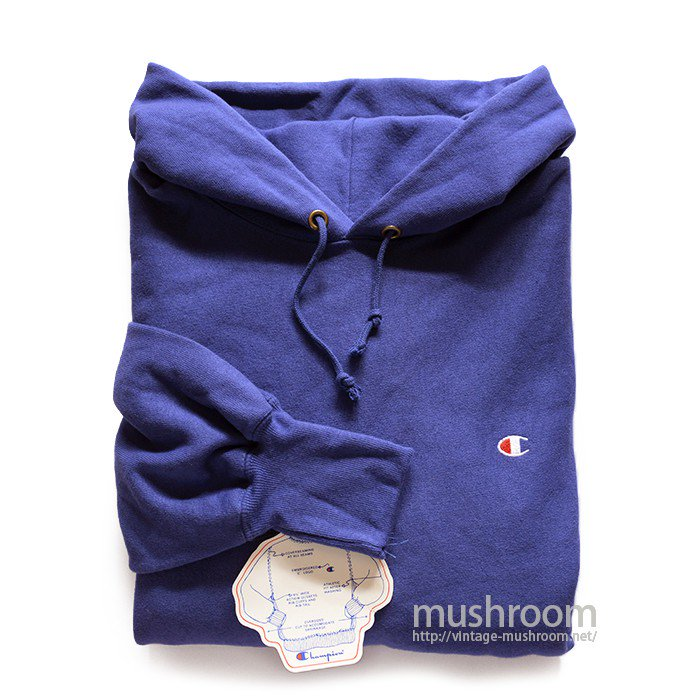 CHAMPION PLAIN REVERSE WEAVE HOODY(XL/DEADSTOCK )