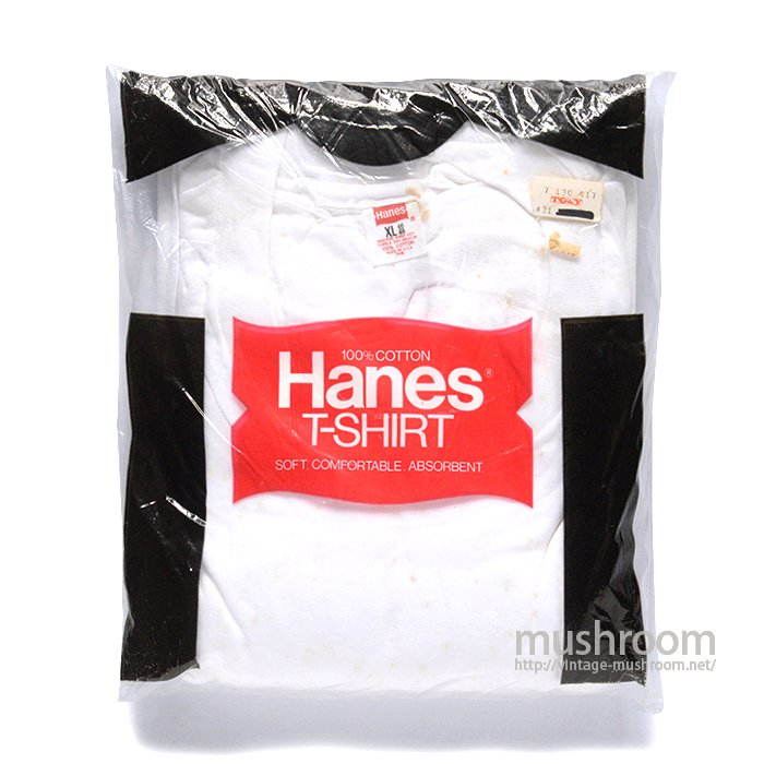 HANES ALL COTTON  PLAIN T-SHIRT( 3SET/DEADSTOCK )