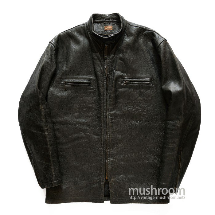 PETERS CAFE RACER LEATHER JACKET