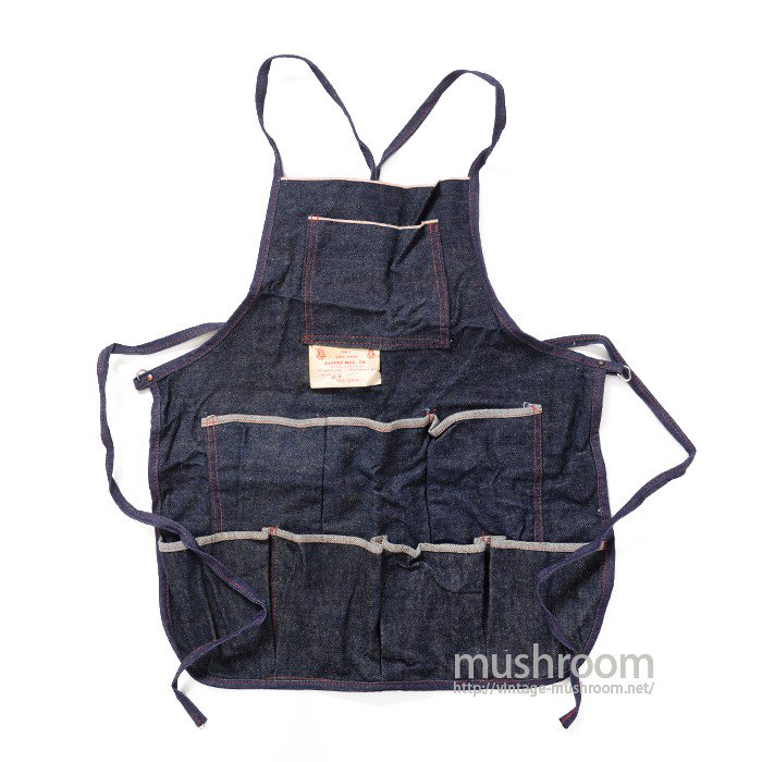 JAFFEE MFG.CO. DENIM WORK APRON( DEADSTOCK )
