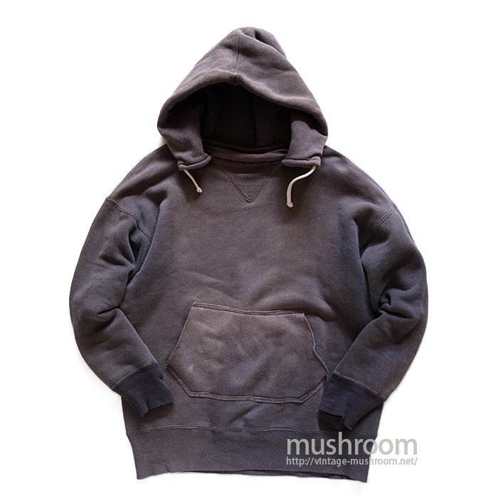 DUXBAK SINGLE-V SWEAT SHIRT WITH AFTER HOODY