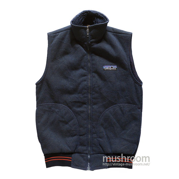 PATAGONIA PILE VEST( BIG LABEL )