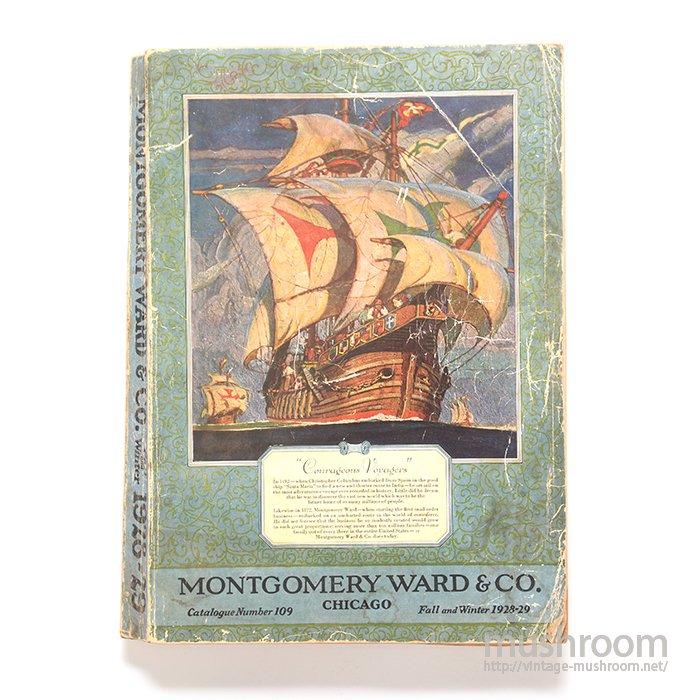 MONTGOMERY WARD FALL&WINTER CATALOG(1928-29)